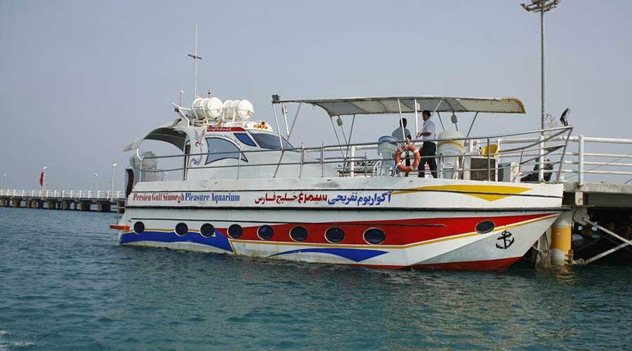 کشتی تفریحی سیمرغ خلیج فارس