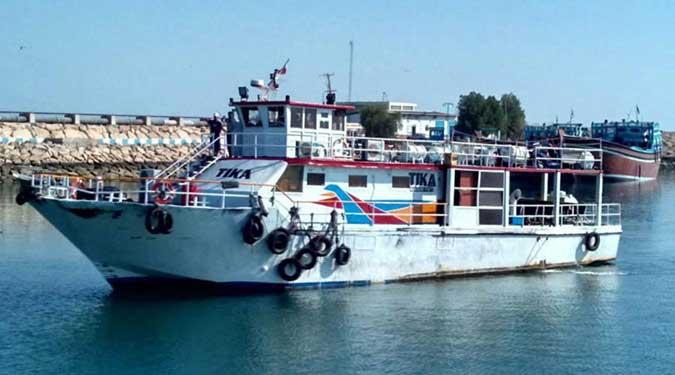 کشتی آکواریوم تیکا