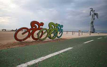 گذرگاه دوچرخه جزیره کیش