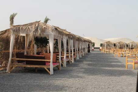 رستوران صحرایی پارس سافاری