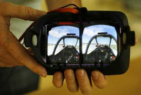 عینک واقعیت مجازی پارس سافاری
