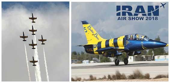 گزارشی از نمایشگاه صنایع هوایی کیش