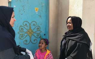اتمام دوره دوم واکسیناسیون فلج اطفال در کیش