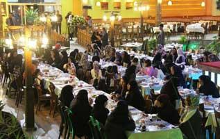 مراسم گرامیداشت روز زن در صدا و سیمای کیش