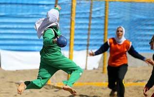 اعزام تیم هندبال ساحلی بانوان کیش به مسابقات قهرمانی کشور