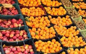 عرضه میوه تنظیم بازاری در کیش