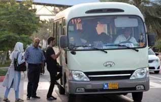 راه اندازی خطوط جدید حمل و نقل عمومی در کیش
