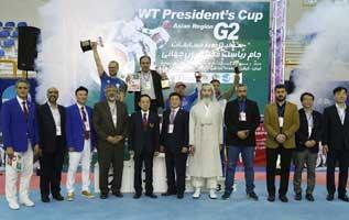 قهرمانی پاراتکواندوکاران ایران در جام ریاست فدراسیون جهانی