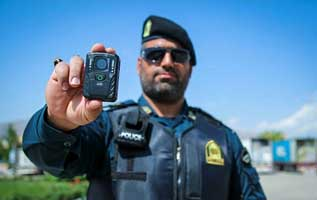 دوربین های ثبت عملکرد پلیس کیش