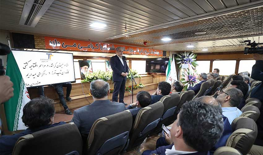 افتتاح کشتی گردشگری کاتاماران تاپ تورز 1