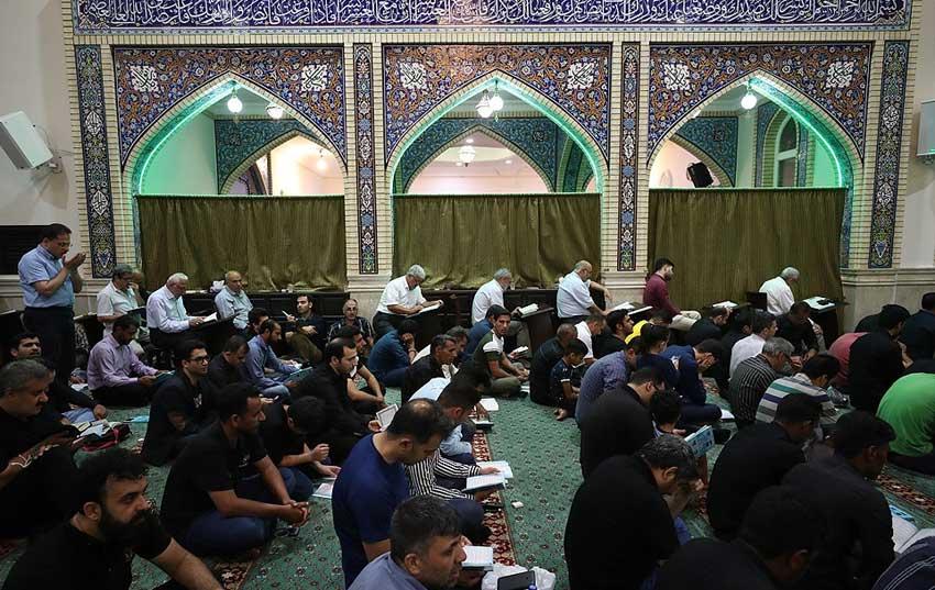 برگزاری مراسم احیای شب نوزدهم ماه رمضان در کیش