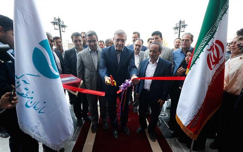 بهره برداری از پروژه های هفته دولت در کیش