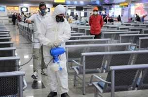 تدابیر لازم برای پیشگیری از شیوع ویروس کرونا در فرودگاه کیش