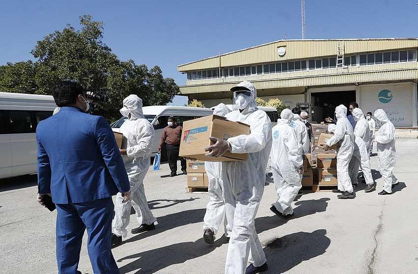 آغاز توزیع بیست هزار محلول ضدعفونی کننده در کیش