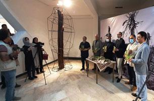 افتتاح نمایشگاه عکس جنگ و خرمشهر در کیش