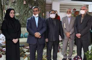 افتتاح نمایشگاه صنایع دستی بانوان هنرمند در کیش