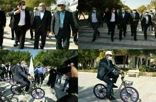 افتتاح ایستگاه های دوچرخه هوشمند در کیش