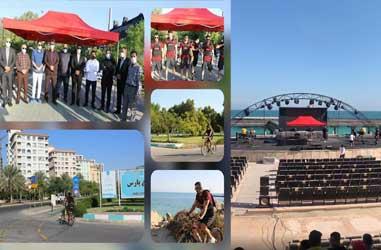 برگزاری مسابقات کراس فیت ساحلی کشور در کیش