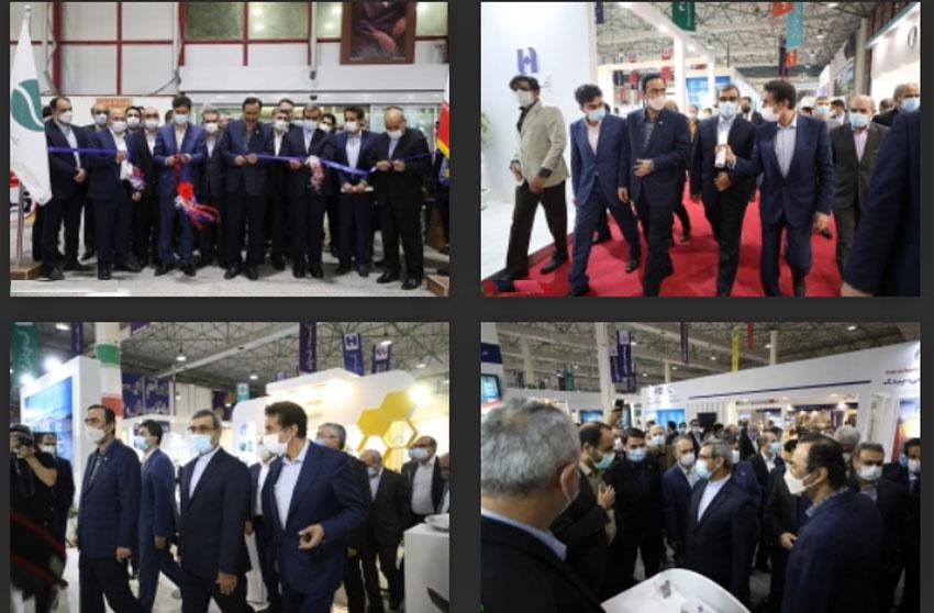 افتتاح دومین نمایشگاه بین المللی پتروشیمی در کیش