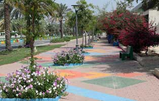 کاشت پنج و نیم میلیون بوته گل در جزیره کیش