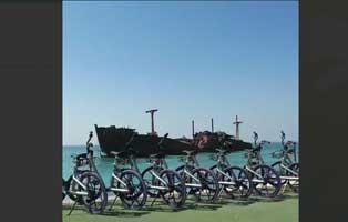 دوچرخه هوشمند الیپ در کیش