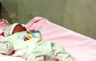 تولد ۷ نوزاد در اولین روز سال در بیمارستان کیش