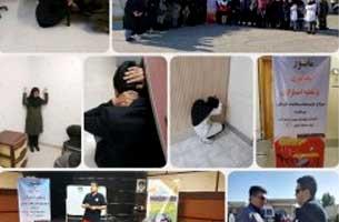 برگزاری مانور زلزله در مرکز توسعه سلامت کیش