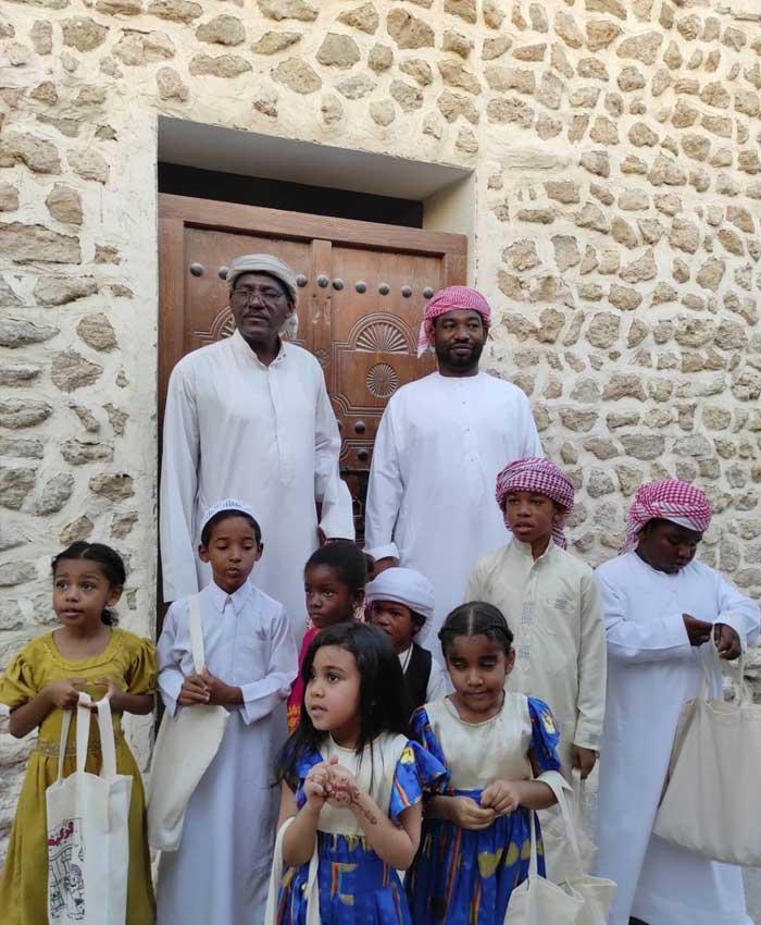 مراسم سنتی گرگاعو (جشن ویژه کودکان) در کیش